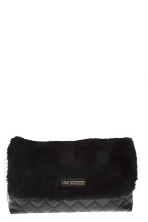 BLACK SHOULDER BAG WITH FUR DETAIL FW 2018 LOVE MOSCHINO | 2 | JC4300PP06KP100A1NERO