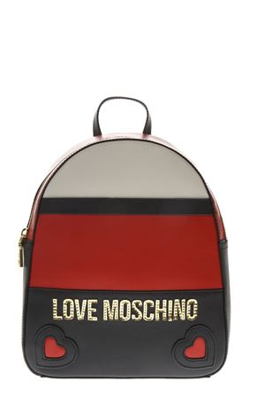 ZAINO IN ECOPELLE MULTICOLORE AI 2018 LOVE MOSCHINO | 183 | JC4338PP06KZUNI150A
