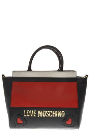 BORSA A MANO IN ECOPELLE IN TRE COLORI AI 2018 LOVE MOSCHINO | 2 | JC4339PP06KZUNI150A