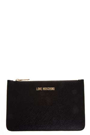 FAUX LEATHER BLACK WALLET FW 2018 LOVE MOSCHINO | 34 | JC5551PP16LQUNI0000