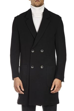 BLACK MIDI DOUBLE BREASTED WOOL COAT FW 2018  LOW BRAND | 31 | L1JFW181934331D001