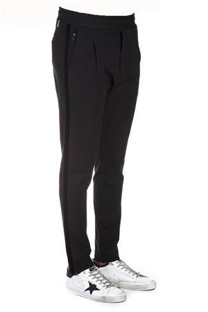 BLACK FABRIC ELASTICATED PANTS FW 2018 LOW BRAND | 8 | L1PFW181934301D001