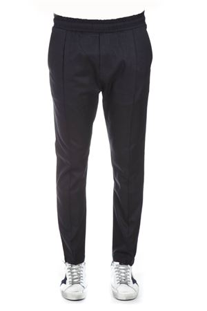 NAVY FABRIC ELASTICATED PANTS FW 2018 LOW BRAND | 8 | L1PFW181934371E044