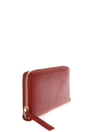 RED LEATHER CONTINENTAL WALLET FW 2018 MAISON MARGIELA | 34 | S56UI0110P0396T4327