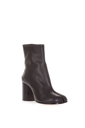 TABI BLACK LEATHER ANKLE BOOTS FW 2018 MAISON MARGIELA | 52 | S58WU0241PR516T8013