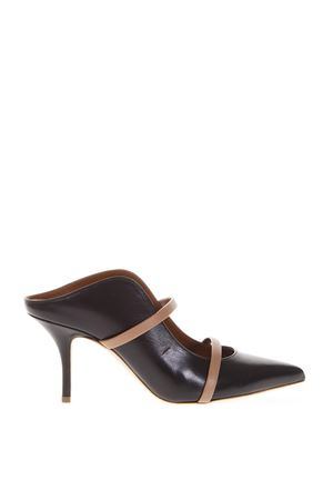 BLACK MULES IN LEATHER FW 2018 MALONE SOULIERS | 48 | MAUREEN70-27BLACK/NUDE