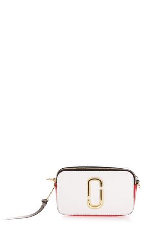 BORSA A TRACOLLA SNAPSHOT IN PELLE PORCELLANA AI 2018 MARC JACOBS | 2 | M0012007SNAPHOT287