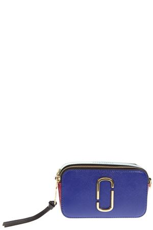 SMALL SNAPSHOT BLU LEATHER CAMERA BAG FW 2018 MARC JACOBS | 2 | M0012007SNAPSHOT462