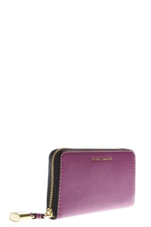 THE GRIND VIOLER LEATHER CONTINENTAL WALLET FW 2018 MARC JACOBS | 34 | M0013603STANDARD567