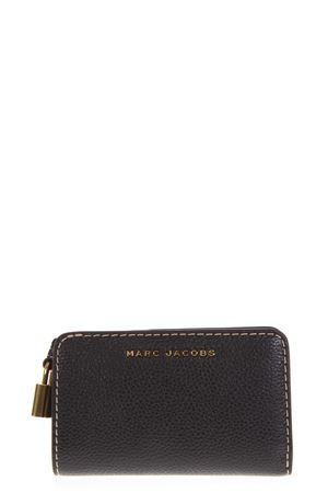 BLACK LEATHER WALLET FW 2018 MARC JACOBS | 34 | M0013604COMPACT001