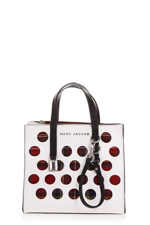 BORSA THE GRIND BIANCA IN PELLE AI 2018 MARC JACOBS | 2 | M0014106THE GRIND287
