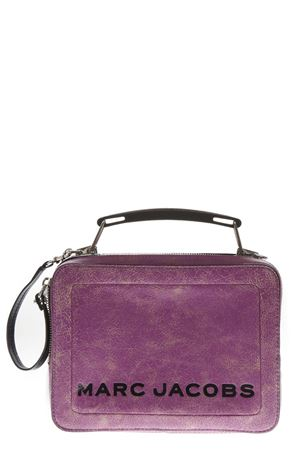 VIOLET LEATHER SHOULDER BAG FW 2018 MARC JACOBS | 2 | V0014259THE BOX567