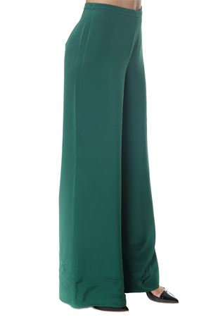 AFFETTO GREEN SILK PANTS FW 2018 MAX MARA | 8 | 8136038600AFFETTO013