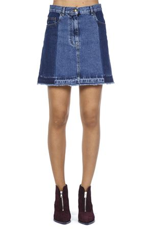 BLUE COTTON DENIM SKIRT FW 2018 McQ ALEXANDER MCQUEEN | 26 | 505467RLD024297