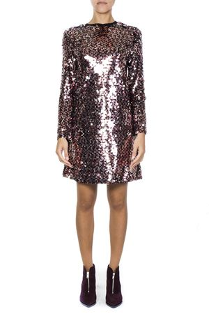 MULTICOLOR SEQUINED DRESS FW 2018 McQ ALEXANDER MCQUEEN | 32 | 519273RLF355764