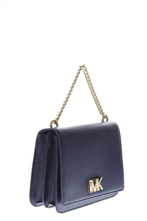 BLUE LEATHER SHOULDER BAG FW 2018 MICHAEL MICHAEL KORS | 2 | 30T7GOXL7LMOTT LG CHAIN SWAG SHLDR414