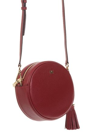 RED LEATHER BAG FW 2018 MICHAEL MICHAEL KORS | 2 | 32T8GF5N3LCROSSBODIES MD CANTEEN BAG550