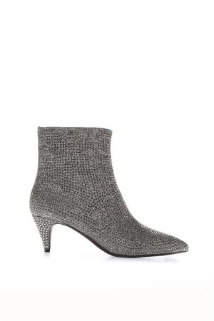 METALLIC EFFECT BOOTS WITH DECORATIONS APPLIED FW 2018 MICHAEL MICHAEL KORS | 52 | 40F8BNME6DBLAINE023