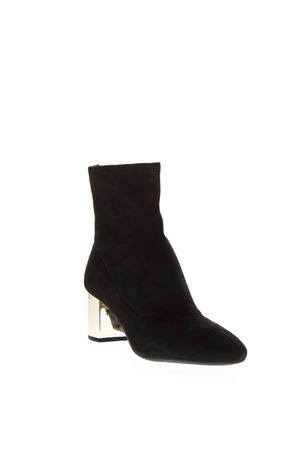 PALOMA BLACK LEATHER ANKLE BOOT FW 2018 MICHAEL MICHAEL KORS | 52 | 40F8PAME5SPALOMA 001