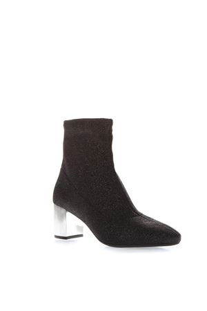 BLACK STRETCH-KNIT ANKLE BOOTS FW 2018 MICHAEL MICHAEL KORS | 52 | 40F8PAME8DPALOMA 001