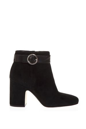 BLACK ALANA BOOTS IN SUEDE SKIN FW 2018 MICHAEL MICHAEL KORS | 52 | 40T8ANHE5SALANA001