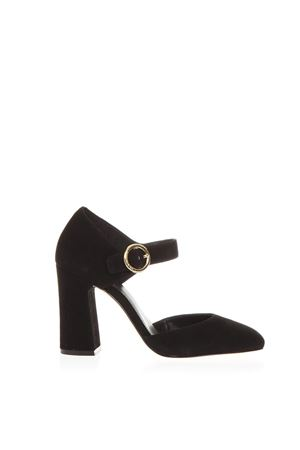 BLACK ALANA SANDALS IN LEATHER FW 2018 MICHAEL MICHAEL KORS | 87 | 40T8ANHS1SALANA001