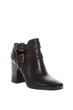 BLACK BUCKLED BOOTS IN LEATHER FW 2018 MICHAEL MICHAEL KORS | 52 | 40T8BLHB5LBLAZE001