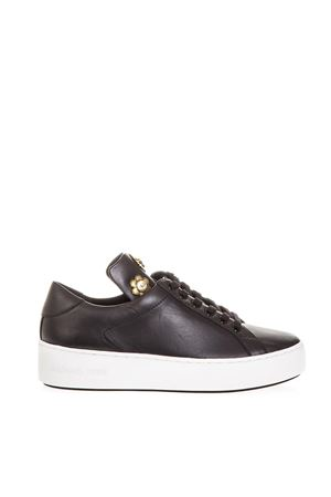 SNEAKERS MINDY NERA IN PELLE AI 2018 MICHAEL MICHAEL KORS | 55 | 43T8MNFS1LMINDY001