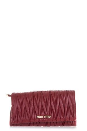 RED QUILTED LEATHER SHOULDER BAG FW 2018 MIU MIU | 2 | 5BH080VN88F068Z