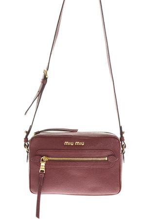 CAMERA BURGUNDI LEATHER BAG FW 2018 MIU MIU | 2 | 5BH1162AJBF0399