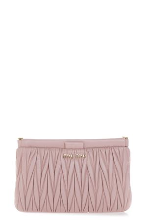 ORCHID QUILTED LEATHER CLUTCH FW 2018 MIU MIU | 2 | 5BH356N88F0615