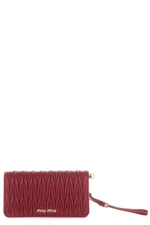 SMALL RED QUILTED LEATHER BAG FW 2018 MIU MIU  a8c8cf2faee7e