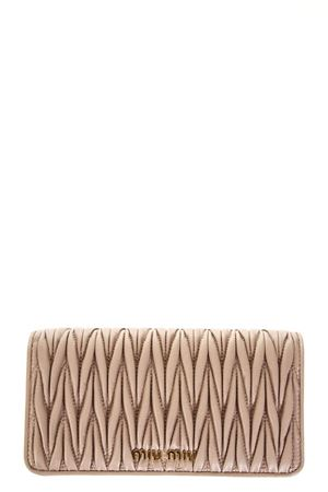SMALL NUDE QUILTED LEATHER BAG FW 2018 MIU MIU  0d2a5f2e46e67