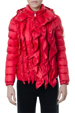 RED DOWN JACKET WITH FRONTAL RUFFLES FW18 MONCLER GENIUS | 27 | 46302055396QDARCY45I