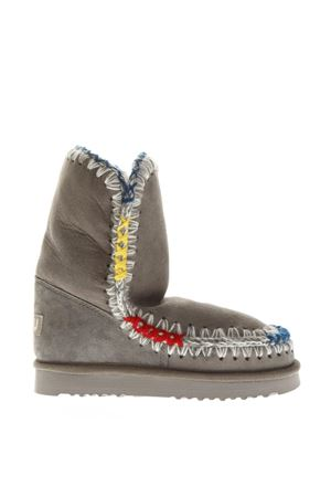 GRAY ESKIMO SHEARLING BOOTS FW 2018 MOU | 52 | MU.ESKI24POP/NGRE/NEW GREY