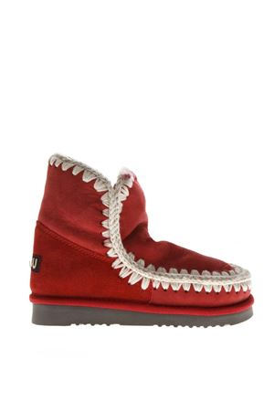 RED ESKIMO 18 SHEARLING BOOTS FW 2018 MOU | 52 | MU.ESKIMO18/CHPE/CHILI PEPPER