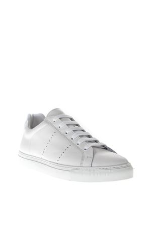 WHITE HOLES LEATHER SNEAKERS FW 2018 NATIONAL STANDARD | 55 | MO418FS0F001WHITE
