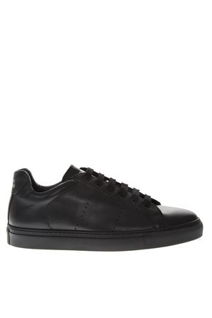 BLACK HOLES LEATHER SNEAKERS FW 2018 NATIONAL STANDARD | 55 | MO418FSOF951BLACK