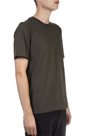 GREEN COTTON T-SHIRT WITH LOGO FW 2018 OAMC | 15 | 7071670N247508A1305