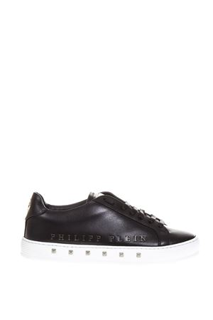 SNEAKERS NERE FIRST TIME IN PELLE AI 2018 PHILIPP PLEIN | 55 | F18SMSC1333PLE075N0291