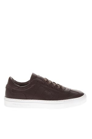BELLEVILLE WEST ANTRACITE SNEAKERS IN LEATHER FW 2018 PHILIPPE MODEL   55   BVLUUNIWW07