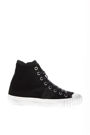 BLACK VELVET HIGH-TOP SNEAKERS FW 2018 PHILIPPE MODEL | 55 | GRHDUNIEV05