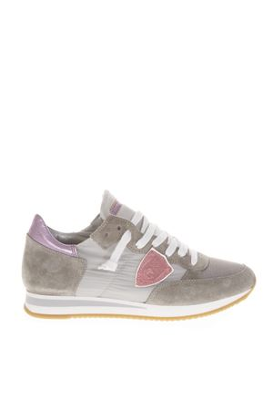 GREY TROPEZ HIGHER SNEAKERS IN SUEDE FW 2018 PHILIPPE MODEL | 55 | TRLDUNI1114