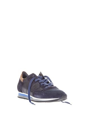 BLUE SUEDE AND NYLON SNEAKERS SS18 PHILIPPE MODEL | 55 | TRLUTROPEZ L UWZ15