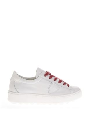 MADELINE WHITE LEATHER SNEAKERS FW 2018 PHILIPPE MODEL | 55 | VBLDUNIV020