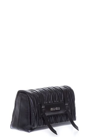 BLACK QUILTED HAND BAG IN LEATHER FW 2018 MIU MIU | 2 | 5BD076N88F0002
