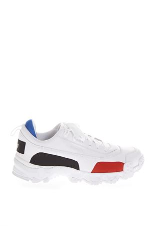 WHITE TRAIL FOX SNEAKERS IN LEATHER FW 2018 PUMA SELECT | 55 | 36709501TRAILFOXWHITE