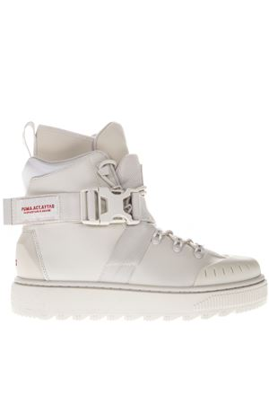 WHITE LEATHER SNEAKERS FW 2018 PUMA SELECT | 55 | 367100021MOONBEAM