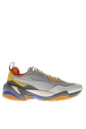 THUNDER SPECTRA MULTICOLOR NYLON&  LEATHER SNEAKERS 