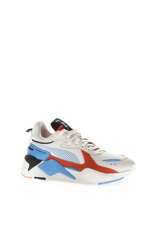 MULTICOLOR LEATHER & MESH SNEAKERS FW 2018 PUMA SELECT   55   369579011WHITE-RED